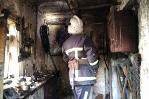 У пожежі на Горохівщині постраждав 16-річний юнак