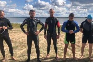 Ігор Гузь переплив озеро Люб'язь