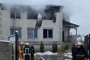 У Харкові горить будинок для літніх людей: уже 15 загиблих (Фото, відео)