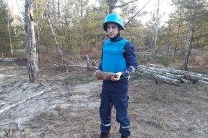 На Волині «чорні археологи» шукали скарби, а знайшли вибухівку