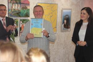 У Луцькій художній школі традиційна виставка «Осіння палітра»