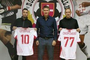 Футбольний клуб «Волинь» підсилився новими гравцями
