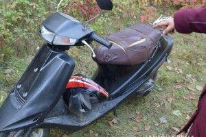 У пенсіонерки з Турійська поцупили скутер «Suzuki» (фото)