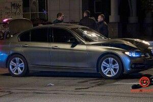 Перебігала дорогу: BMW на смерть збив дівчину (Відео, фото 18+)