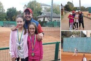 Дві лучанки показали клас у тенісі в Івано-Франківську