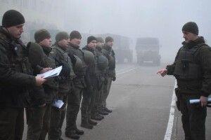 У повній бойовій готовності - луцькі гвардійці відточували майстерність у польових умовах