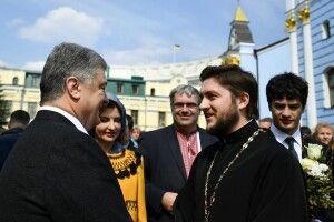Священик з Волині тепло подякував Петру Порошенку