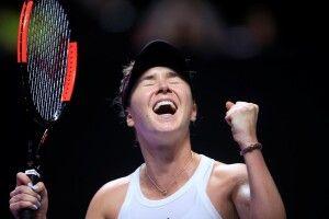 Еліна Світоліна обіграла Сімону Халеп і гарантувала собі вихід у півфінал Підсумкового турніру WTA