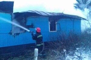 Через пожежу загинув чоловік літнього віку