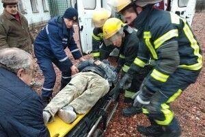 Будівельника  з травмами  було госпіталізовано