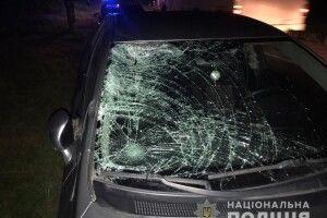 За годину під колеса автомобілів потрапили двоє п'яних жителів Рівненщини