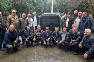 У Горохові освятили пам'ятник воїнам, які загинули в Афганістані (Фото)