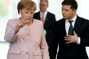 Вся надія на Меркель? Зеленський попросив канцлера Німеччини про вакцини