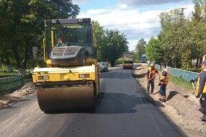 У селі Видерта на Камінь-Каширщині будують дорогу (фото)