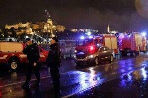 У Будапешті затонув катер для прогулянок: є загиблі