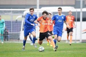 «Шахтар» U-19 у меншості втримав нічию в поєдинку Юнацької ліги УЄФА із загребським «Динамо» U-19