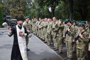 У Луцьку новобранці-прикордонники склали військову присягу (Фото)