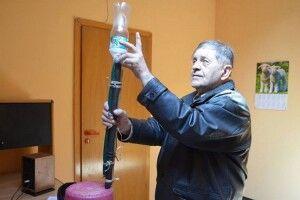 Микола Осадчук запатентував прилад, який рятує від вибухів газу