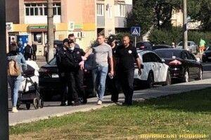 У Луцьку із зали суду тікав обвинувачений (фото)
