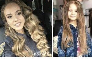 Капрал поліції подарувала онкохворим діткам своє волосся