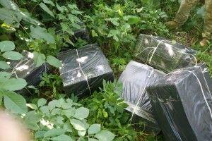 Понад 22 тисячі пачок контрабандних сигарет затримали прикордонники (Фото, відео)