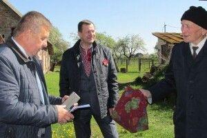 На Камінь-Каширщині залишилося близько десятка ветеранів Другої світової війни