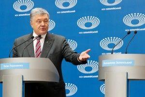 Порошенко закликав Зеленського перестати боятися і прийти завтра разом в ефір ICTV