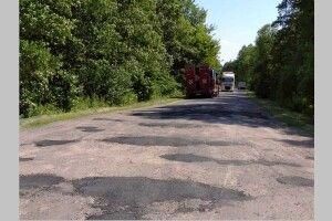 На Любешівщині знову ремонтують дорогу між селами