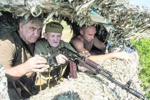 У свої майже 96 років Ігор Малицький воює за Україну