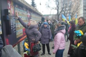 У Луцьку вшанували пам'ять тих, хто «тримав небо» над Україною (фото, відео)
