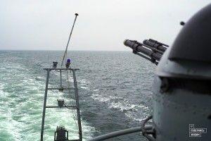 Життя в морі. Репортаж з борту єдиного в Україні десантного корабля «Юрій Олефіренко»