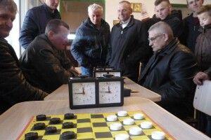 В Хотешові визначили кращих шашкістів
