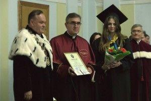Почесний титул Лесиного вишу вручили ректору з Польщі (Фото, відео)