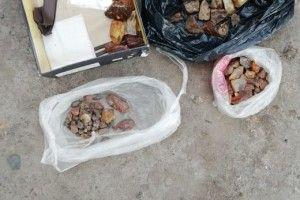 У Маневицькому районі на Волині затримано трьох бурштинокопачів (Фото)