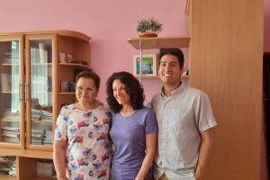 Мама американського волонтера завітала на Волинь
