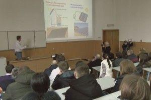 Випусник СНУ розповів нинішнім студентам про новітні методи добування енергії (Відео)