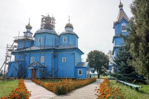 Синьо-жовта таємниця Cвято-Михайлівського храму