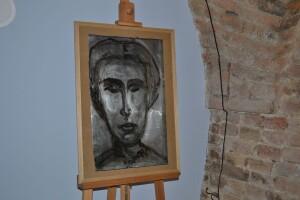 У Луцьку виставили алюмінієву Лесю Українку