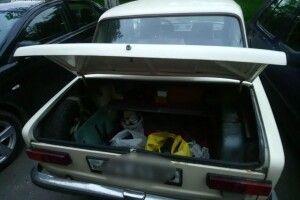 У Луцьку затримали підозрюваного в обкраданні авто (Фото)