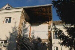 У Горохівському психоневрологічному інтернаті обвалилася двометрова стіна