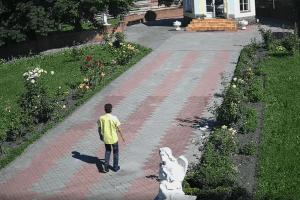 Злодій помолився в капличці і забрав усі пожертви (Відео)