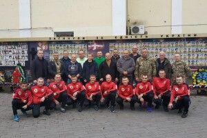 Волинські атовці вирушили у Волноваху, щоб вшанувати пам'ять загиблих побратимів