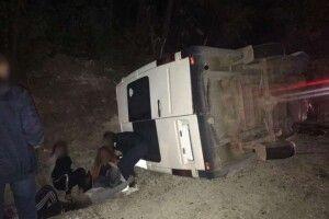 Смертельне ДТП: зіткнулися автобус і легковик (фото)