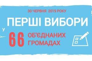 30 червня 2019 року відбудуться перші вибори депутатів