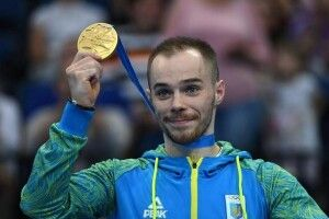 Гімнаста Олега Верняєва визнали найкращим спортсменом червня