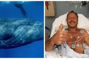Чоловік вижив після того, як його проковтнув… кит