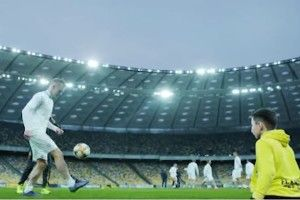 Андрій Шевченко і гравці збірної України виконали мрію безногого хлопчика