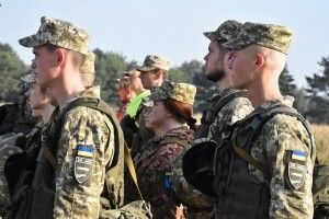 Лави 14-ої бригади поповнили випускники вищих військових навчальних закладів (Фото)