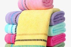 Махрові рушники: рідким засобам для прання— так, прасці— ні