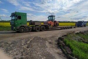 На Старовижівщині ремонтують дорогу від Чевеля до Кримного